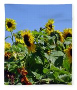 Sea Of Sunshine Fleece Blanket