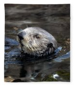 Sea Otter Fleece Blanket