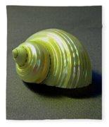 Sea Shell Turbo Marmoratus Fleece Blanket