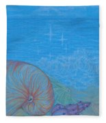 Sea Shore Fleece Blanket