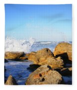 Sea Splash Fleece Blanket