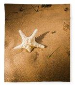Sea Star Scene Fleece Blanket