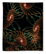 Sea Urchins Fleece Blanket