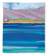 Sea View Galaxidhi Fleece Blanket