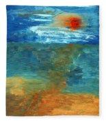 Sea Was Fleece Blanket