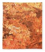 Sea Weathered- Abstract Art Fleece Blanket
