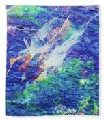 Sea Weed Fleece Blanket