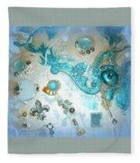 Seablue Fleece Blanket