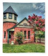 Seaboard Railroad Station Suffolk Va No.1 Fleece Blanket