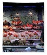 Seafood Restaurant 1 Fleece Blanket