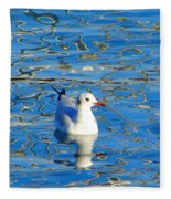 Seagull Fleece Blanket