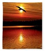 Seagull Homeward Bound Fleece Blanket