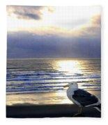 Seagull Sentinel Fleece Blanket
