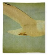 Seagull Texture Fleece Blanket