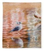 Seagulls - Impressions Fleece Blanket
