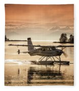 Seair Beaver 1 Fleece Blanket