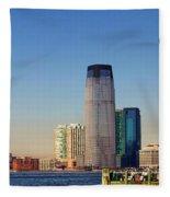 Seaport Ny Fleece Blanket