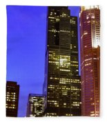 Sears Tower Chicago Fleece Blanket