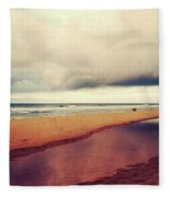 Seascape 17 Fleece Blanket