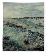 Seascape 459090 Fleece Blanket