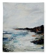 Seascape 68 Fleece Blanket