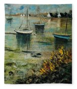 Seascape 78 Fleece Blanket