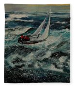 Seascape 97 Fleece Blanket