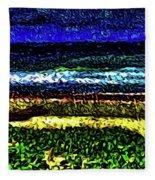 Seascape 99 Fleece Blanket