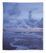 Seascape Lights Fleece Blanket