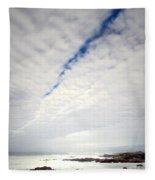 Seascape Skyscape Two Fleece Blanket
