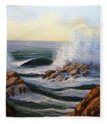 Seascape Study 1 Fleece Blanket