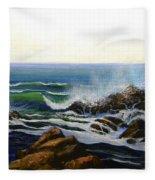 Seascape Study 5 Fleece Blanket