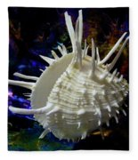 Seashell Spondylus Americanus Fleece Blanket
