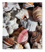 Seashells Fleece Blanket