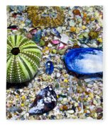 Seashore Colors Fleece Blanket