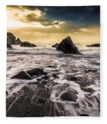 Seaside L/r Fleece Blanket