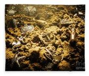 Seaside Of Creative Charms Fleece Blanket