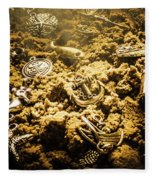 Seaside Of Creative Charms Fleece Blanket