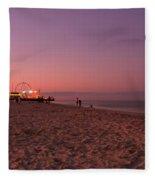 Seaside Park I - Jersey Shore Fleece Blanket