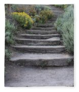 Seaside Steps Fleece Blanket