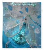 Season Greetings 1 Fleece Blanket