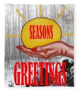 Seasons Greetings 31 Fleece Blanket