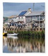 Seaton Harbour - Devon Fleece Blanket