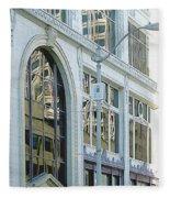 Seattle Architecture Fleece Blanket