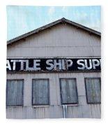 Seattle Ship Supply 2 Fleece Blanket