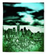 Seattle - The Emerald City Fleece Blanket
