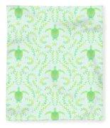 Seaturtlepattern3 Fleece Blanket
