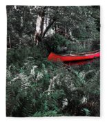 Secluded Spot Fleece Blanket
