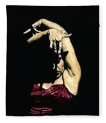 Seclusion Del Flamenco Fleece Blanket