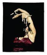Seclusion Del Flamenco Fleece Blanket